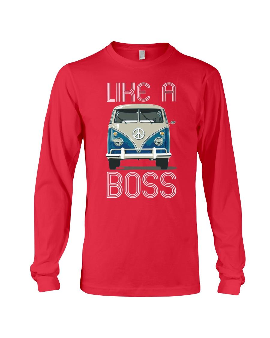 Like A Boss Long Sleeve Tee