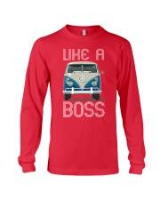 Like A Boss Long Sleeve Tee front