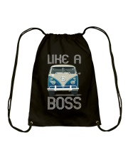 Like A Boss Drawstring Bag thumbnail