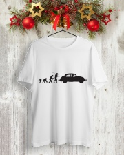 Evolution  Classic T-Shirt lifestyle-holiday-crewneck-front-2