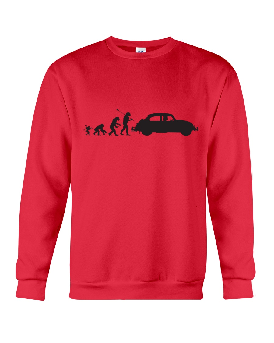 Evolution  Crewneck Sweatshirt