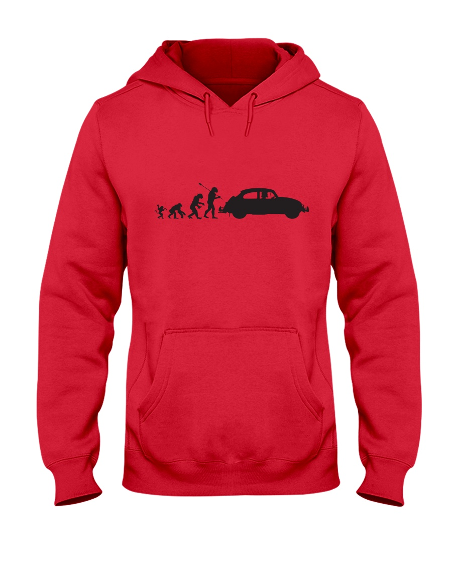 Evolution  Hooded Sweatshirt