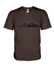 Evolution  V-Neck T-Shirt tile