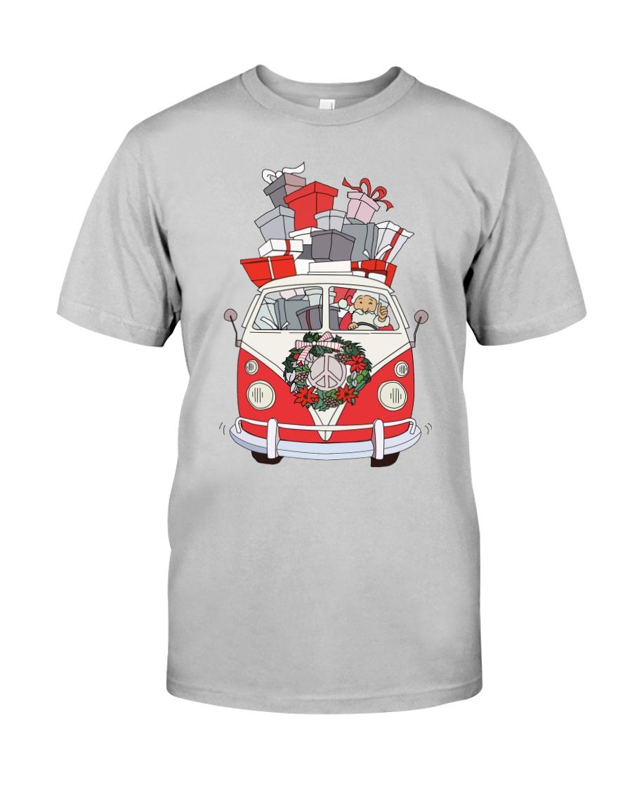 VW BUS Santa Claus Classic T-Shirt