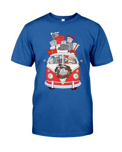 VW BUS Santa Claus
