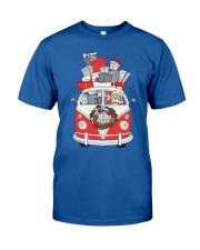 VW BUS Santa Claus Classic T-Shirt front