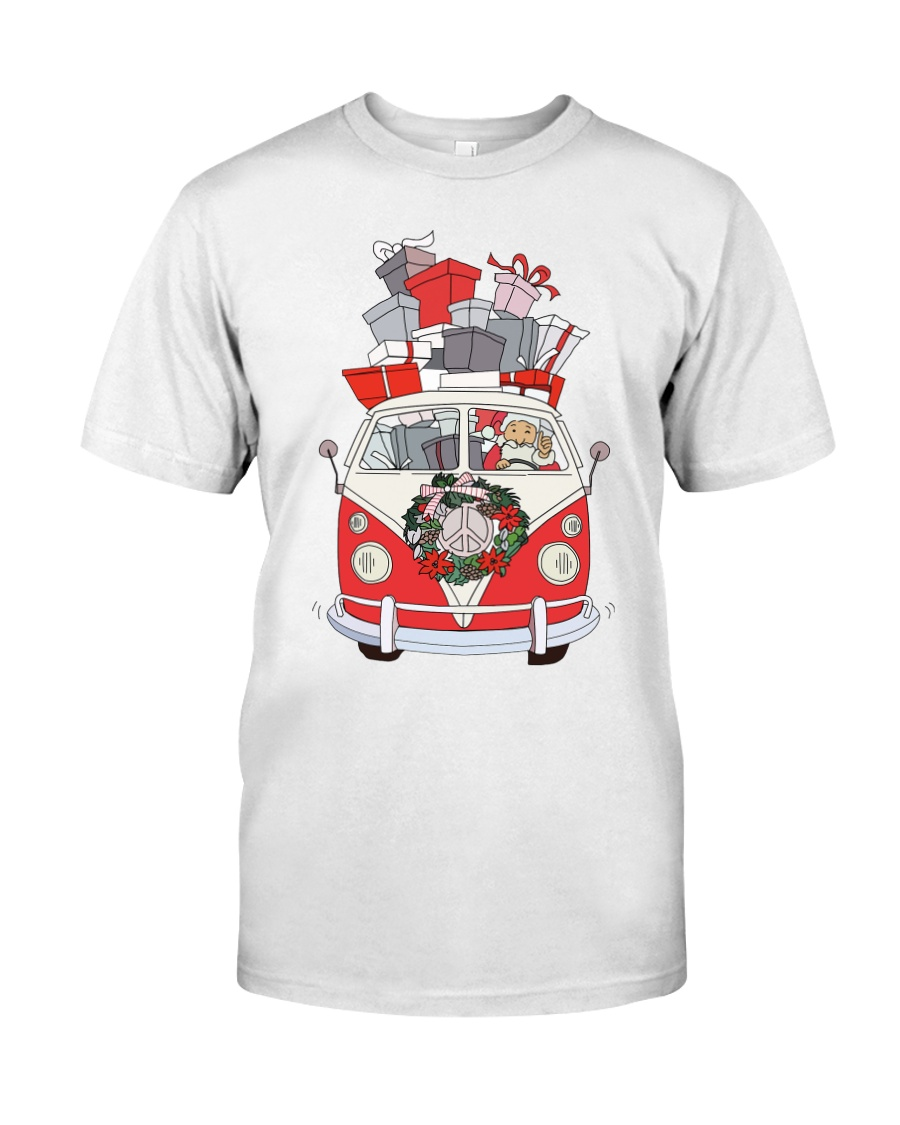 VW BUS Santa Claus Classic T-Shirt