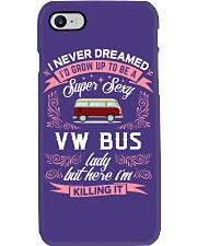Super Sexy  VW Bus  Lady Phone Case thumbnail
