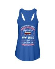 Super Sexy  VW Bus  Lady Ladies Flowy Tank thumbnail