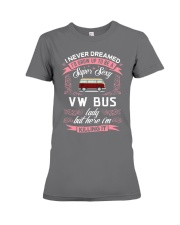 Super Sexy  VW Bus  Lady Premium Fit Ladies Tee thumbnail