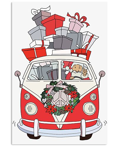 VW bus Christmas