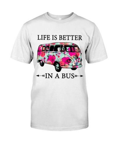 Life is better in a bus-Vw Bus
