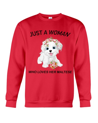 Just a woman who loves her maltese