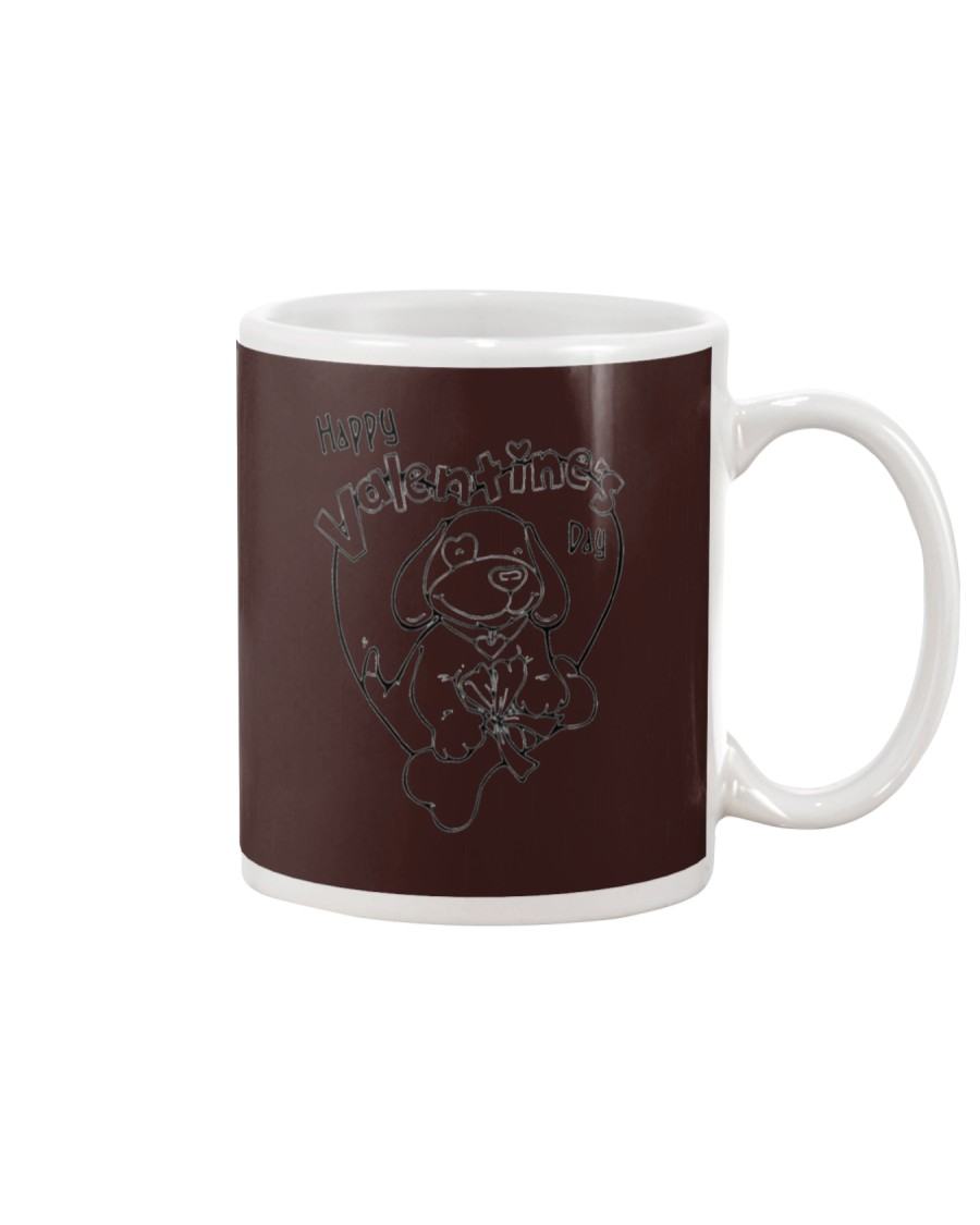 Happy Valentine Dog Mug
