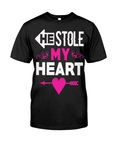 Couple Shirt-Stole My - Valentines Day