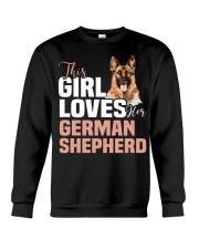 This girl loves german shepherd German shepherd Crewneck Sweatshirt thumbnail