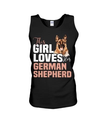 This girl loves german shepherd German shepherd