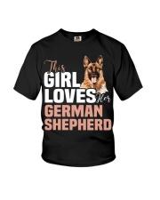 This girl loves german shepherd German shepherd Youth T-Shirt thumbnail