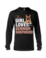 This girl loves german shepherd German shepherd Long Sleeve Tee thumbnail