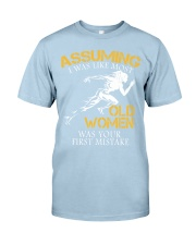 Run old women Classic T-Shirt thumbnail