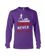 running grandma 8 Long Sleeve Tee thumbnail