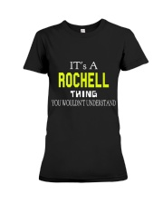 Rochell Man Shirt 1 Premium Fit Ladies Tee thumbnail