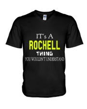 Rochell Man Shirt 1 V-Neck T-Shirt tile