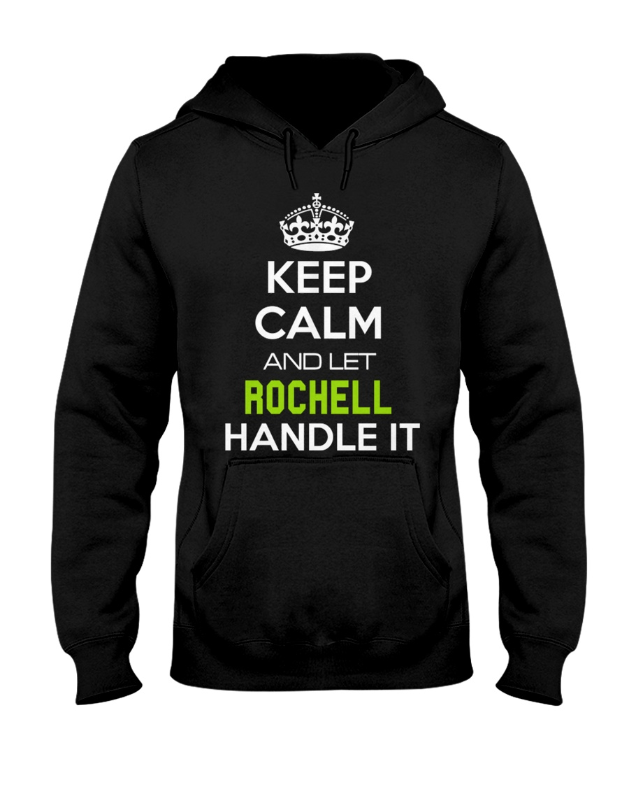 Rochell Calm Shirt Hooded Sweatshirt