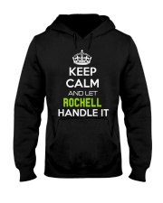 Rochell Calm Shirt Hooded Sweatshirt tile