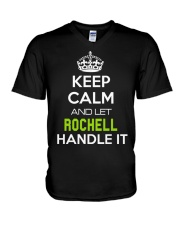 Rochell Calm Shirt V-Neck T-Shirt thumbnail