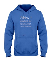 Shhh Having A Bowling Moment Hooded Sweatshirt front
