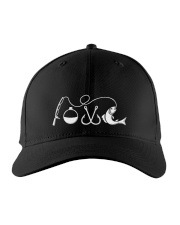 Fishing lovers Embroidered Hat front