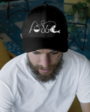 Fishing lovers Embroidered Hat garment-embroidery-hat-lifestyle-06