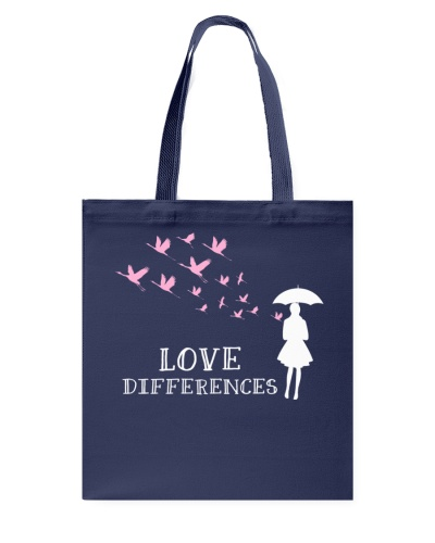 Love Differences For Autism 3 T-shirt