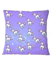 Unicorn - Stay Magical Square Pillowcase thumbnail