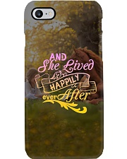 Horse - And She Lived Happily Ever After Phone Case tile