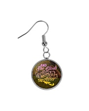 Horse - And She Lived Happily Ever After Circle Earrings thumbnail