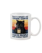 Cat Coffee T-shirt  Mug thumbnail