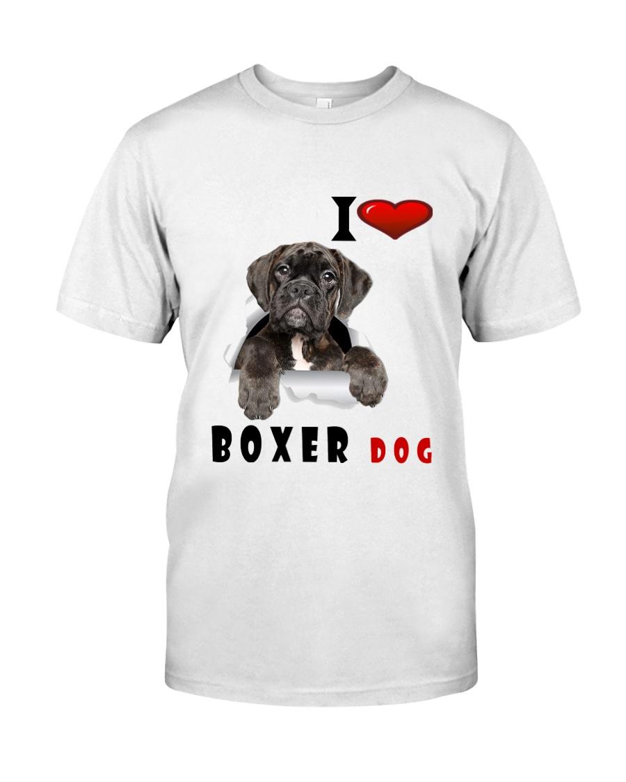 Boxer dog Premium Fit Mens Tee