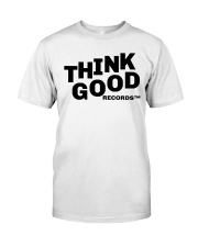 Think Good Black Logo Classic T-Shirt front