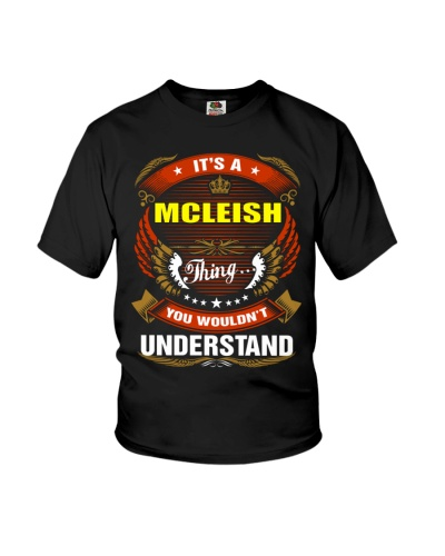 MCLEISH love Shirt