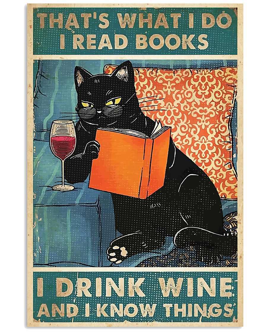 That's what i do i read book  11x17 Poster