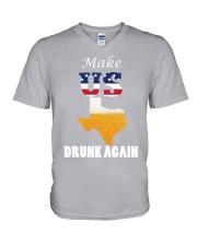 Texas Drunk Team V-Neck T-Shirt thumbnail