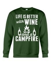 Camping life is better Crewneck Sweatshirt thumbnail