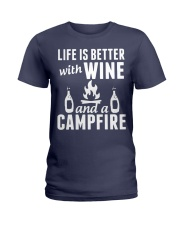 Camping life is better Ladies T-Shirt thumbnail