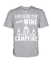 Camping life is better V-Neck T-Shirt thumbnail