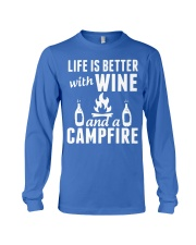 Camping life is better Long Sleeve Tee thumbnail