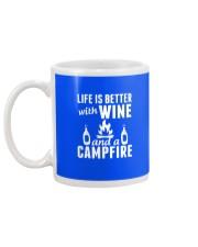 Camping life is better Mug back