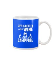 Camping life is better Mug front