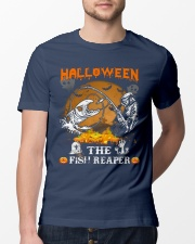 HalloWeen the Fish Reaper Classic T-Shirt lifestyle-mens-crewneck-front-13